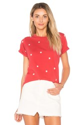 Wildfox Couture Football Star Tee Red