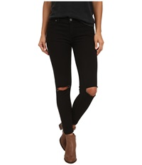 Free People Destroyed Jeans Black Women's Jeans