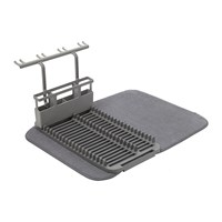 Umbra Udry Dishrack With Dry Mat Charcoal