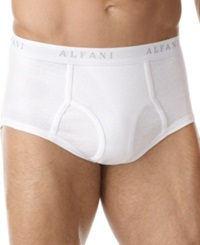 Alfani Men's Underwear Brief 4 Pack White