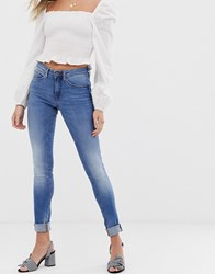 Blend She Bright Azura Skinny Jeans Blue