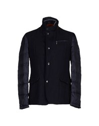 Brooksfield Coats And Jackets Down Jackets Men Dark Blue