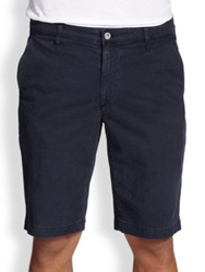 Ag Jeans Griffin Cotton Shorts Night Eclipse