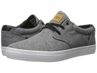Globe Willow Black Chambray White Men's Skate Shoes Gray