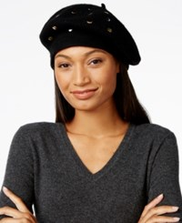 Inc International Concepts Mixed Metallic Beret Only At Macy's Black