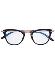 Oliver Peoples Keery Glasses Acetate Metal Other Blue