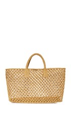 Hat Attack Macrame Tote Natural