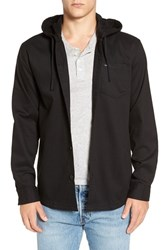 Rvca Men's 'No Good' Hooded Shirt Jacket
