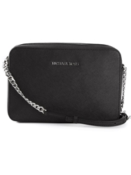 Michael Kors 'Jet Set' Crossbody Bag Black