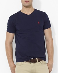 Polo Ralph Lauren Cotton V Neck Tee Ink