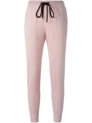 Markus Lupfer Tapered Track Pants Pink And Purple