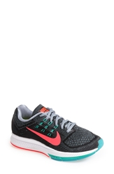 Nike 'Air Zoom Structure 18' Running Shoe Wide Women Black Punch