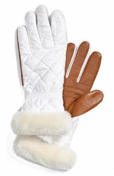 Women's Ugg Australia Slim Fit Quilted Tech Gloves