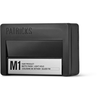 Patricks M1 Matte Finish Light Hold Pomade 75Ml Black