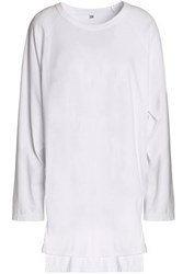 Oak Cotton Jersey Top White