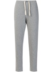 Woolrich Slim Fit Track Pants Cotton Grey
