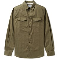 Norse Projects Villads Dry Texture Shirt Green