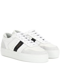 Axel Arigato Leather Platform Sneakers White