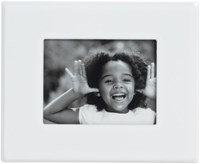 Cb2 Mini White Magnetic 1.5X2 Picture Frame