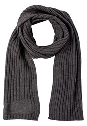Replay Scarf Dark Ash Grey Dark Grey