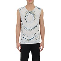 Raquel Allegra Men's Tie Dyed Muscle T Shirt No Color