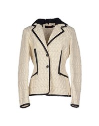 Versace Sport Coats And Jackets Jackets Women Ivory