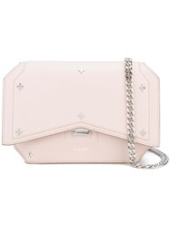 Givenchy Bow Cut Crossbody Bag Pink Purple