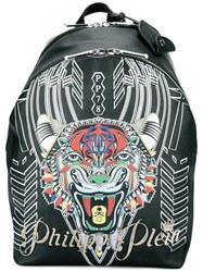Philipp Plein Notes Backpack Black