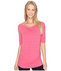 Royal Robbins Essential Tencel Cowl Neck Punch Women's Clothing Pink