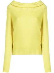 Emilio Pucci Knit Jumper Yellow