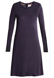 Noa Noa Jumper Dress Graystone Dark Blue
