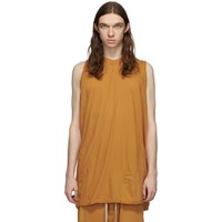 Rick Owens Drkshdw Orange Ricks Tank Top