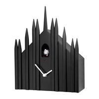 Diamantini And Domeniconi Duomo Wall Clock Black