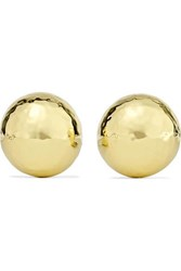 Ippolita Classico Pinball 18 Karat Gold Clip Earrings