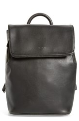 Matt And Nat Mini Fabi Faux Leather Backpack Black