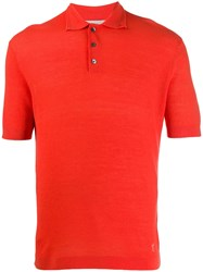 Pringle Of Scotland Regular Fit Merino Wool Polo Shirt 60