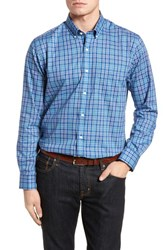 Cutter And Buck 'S Big Tall Charlie Classic Fit Easy Care Check Sport Shirt Bolt