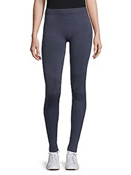 Electric Yoga Patterned Workout Leggings Navy
