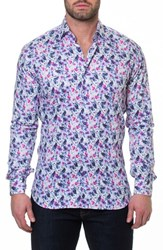 Maceoo Luxor Home Slim Fit Sport Shirt Pink