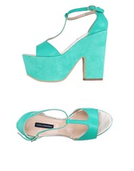 Atos Lombardini Sandals Light Green