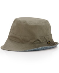 Denim And Supply Ralph Lauren Reversible Bucket Hat Mount Grn
