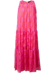 Gianluca Capannolo Martha Long Dress Pink