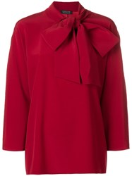 Gianluca Capannolo Judy Blouse Red