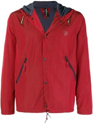 Paul Smith Ps By Zip Up Jacket Red