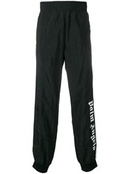 Palm Angels Front Logo Track Trousers Black