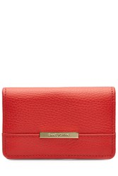 See By Chloe Leather Wallet Red
