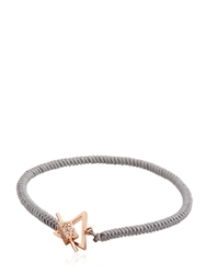 Luis Morais Medium Trikona Toggle Bracelet Grey