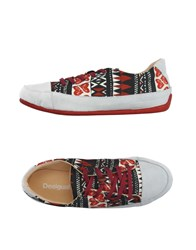 Desigual Footwear Low Tops And Trainers Women Light Grey