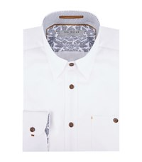 Ted Baker Soft Oxford Soft Male White