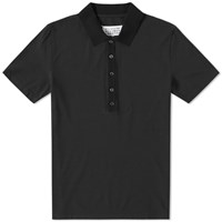 Maison Martin Margiela Maison Margiela 14 Long Placket Polo Black